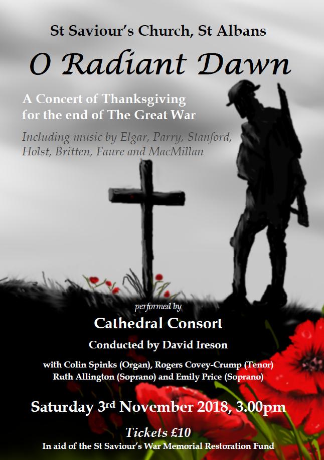 Cathedral Consort - 03-Nov-18